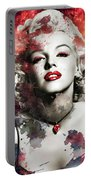 Marilyn Monroe   Colorful  Portable Battery Charger