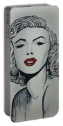 Marilyn Monroe Dripping Portable Battery Charger