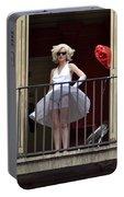 Marilyn Monroe Lookalike Portable Battery Charger