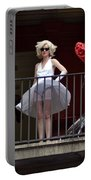 Marilyn Monroe Lookalike Portable Battery Charger