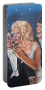 Marilyn Monroe Marries Charlie Mccarthy Portable Battery Charger