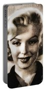 Marilyn Monroe, Vintage Actress Portable Battery Charger