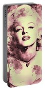 Marilyn Monroe   Vintage Portable Battery Charger