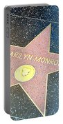 Marilyn's Star Portable Battery Charger
