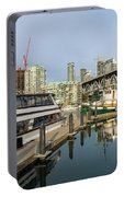Marina At Granville Island In Vancouver Bc Portable Battery Charger