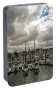 Marina In Olympia Washington Waterfront Portable Battery Charger