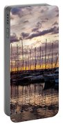Marina Sunset Portable Battery Charger