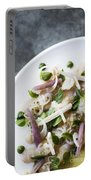 Marinated Tuna Vegetable And Herb Salad Portable Battery Charger
