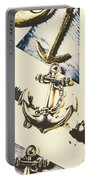Marine Insignia Portable Battery Charger