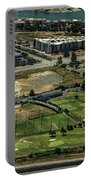 Mariners Point Golf Center In Foster City, California Aerial Photo Portable Battery Charger