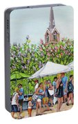 Marion Square Market Portable Battery Charger