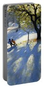 Markeaton Park Early Snow Portable Battery Charger