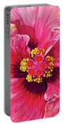 Maron's Hibiscus Portable Battery Charger
