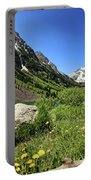 Maroon Bells In Summer 2 Portable Battery Charger