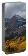 Maroon Bells Peaks Portable Battery Charger
