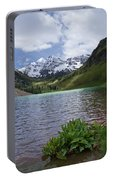 Maroon Bells Spring Portable Battery Charger