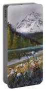 Maroon Lake Portable Battery Charger