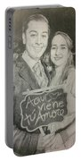 Marriage Portrait Portable Battery Charger