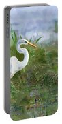 Marsh Egret Portable Battery Charger