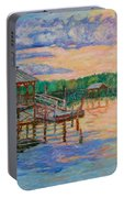 Marsh View At Pawleys Island Portable Battery Charger