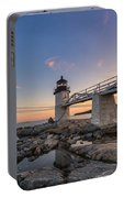 Marshall Point Lighthouse Reflections Portable Battery Charger