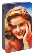 Martha Vickers, Vintage Hollywood Actress Portable Battery Charger