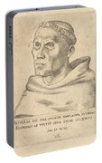 Martin Luther As An Augustinian Monk Portable Battery Charger
