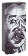 Martin Luther King Portable Battery Charger