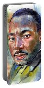 Martin Luther King Jr. Painting Portable Battery Charger