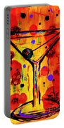 Martini Twentyfive Of Sidzart Pop Art Collection Portable Battery Charger