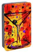 Martini Twentyfive Of Sidzart Pop Art Collection Portable Battery Charger