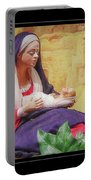 Mary And Jesus Portable Battery Charger