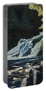 Mary Ann Falls On The Cabot Trail Portable Battery Charger