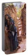 Mary Magdalene At The Sepulchre Portable Battery Charger