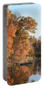 Maryland Autumns - Clopper Lake - Kingfisher Overlook Portable Battery Charger