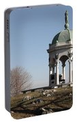 Maryland Monument At Antietam Portable Battery Charger