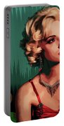 Marylin Monroe Portable Battery Charger