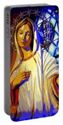 Marys Circle Of Stars Portable Battery Charger