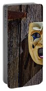 Mask On Barn Door Portable Battery Charger