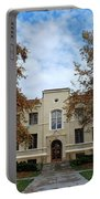 Mason Hall - Pomona College - Autumn Trees Portable Battery Charger