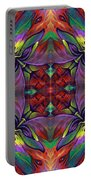 Masqparade Tapestry 7d Portable Battery Charger