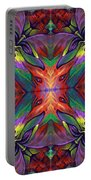 Masqparade Tapestry 7f Portable Battery Charger