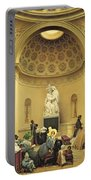 Mass In The Expiatory Chapel Portable Battery Charger by Lancelot Theodore Turpin de Crisse