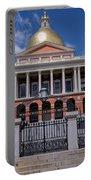 5- Massachusetts State House Eckfoto Boston Freedom Trail Portable Battery Charger