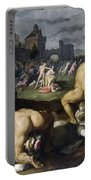 Massacre Of The Innocents Portable Battery Charger
