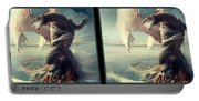 Massive Dragon - Gently Cross Your Eyes And Focus On The Middle Image Portable Battery Charger