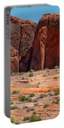 Massive Sandstone Cliffs Valley Of Fire Portable Battery Charger