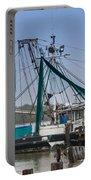Matagorda Fishing Boats Portable Battery Charger
