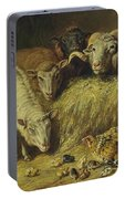 Maternal Solicitude By Arthur Fitzwilliam Tait Portable Battery Charger