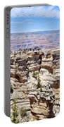 Mather Point At The Grand Canyon Portable Battery Charger